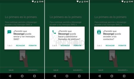 otorga permisos de aplicaciones móviles